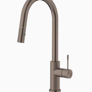 NERO Opal Pull Out Sink Mixer – Brushed Bronze