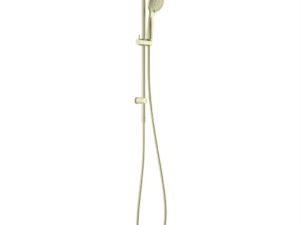 NERO Opal Air Shower Rail – Brushed Gold