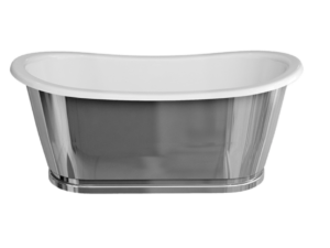 Balthazar ClearStone Bath Stainless Steel Outer