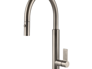 Emporio Pull Out Dual Function Spray Kitchen Mixer – Brushed-nickel