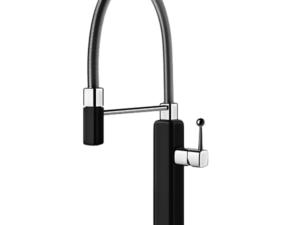 Happy Sink Mixer with Pull-Out – Gloss-black