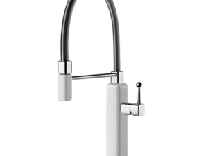 Happy Sink Mixer with Pull-Out – Gloss-white