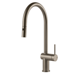 Inedito Pull Out Dual Function Kitchen Mixer – Brushed-nickel