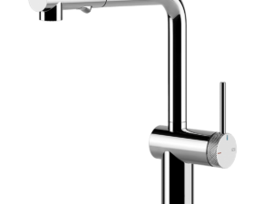 Inedito Pull Out Dual Function Kitchen Mixer – Chrome