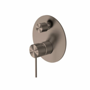 Brushed Bronze MECCA SHOWER MIXER WITH DIVERTOR BZ