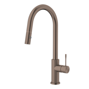 Brushed Bronze OPAL PULL OUT SINK MIXER BZ
