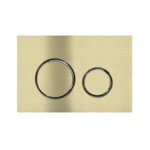 Meir Sigma 21 Dual Flush Plate by Geberit – Tiger Bronze
