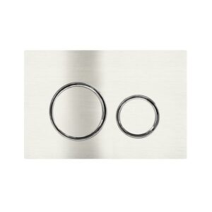 Meir Sigma 21 Dual Flush Plate by Geberit – PVD Brushed Nickel