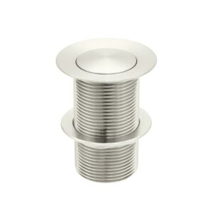 Meir Basin Pop Up Waste 32mm – No Overflow / Unslotted – PVD Brushed Nickel