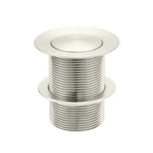 Meir 40mm Pop Up Waste – No Overflow / Unslotted – PVD Brushed Nickel